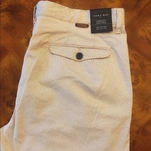 NEW. Zara Man Comfort Textures Pants. 34/32